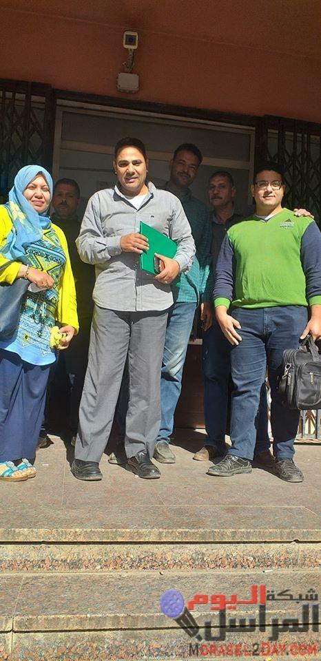 لجنة تتبع مجلس الوزراء تقوم بالتحليل الطبي اليوم علي العاملين بشركة كهرباء مصر الوسطي قطاع كهرباء الفيوم