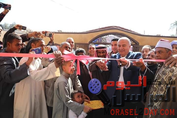 الدوادى يفتتح المسجدالجديد بقرية الشيخ على شرق بمركز دشنا بعد ترميمه وتجديده