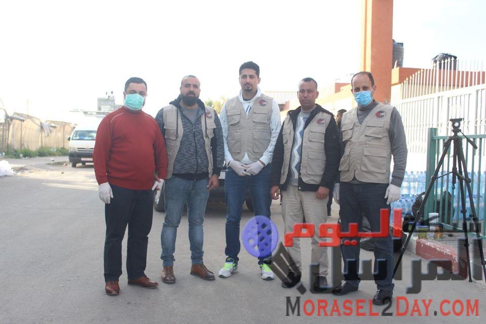 """"""" المجلس الفلسطيني الاقتصادي العالمي """" يقدم مساعدات إغاثية وطبية للمحجورين صحيا"""