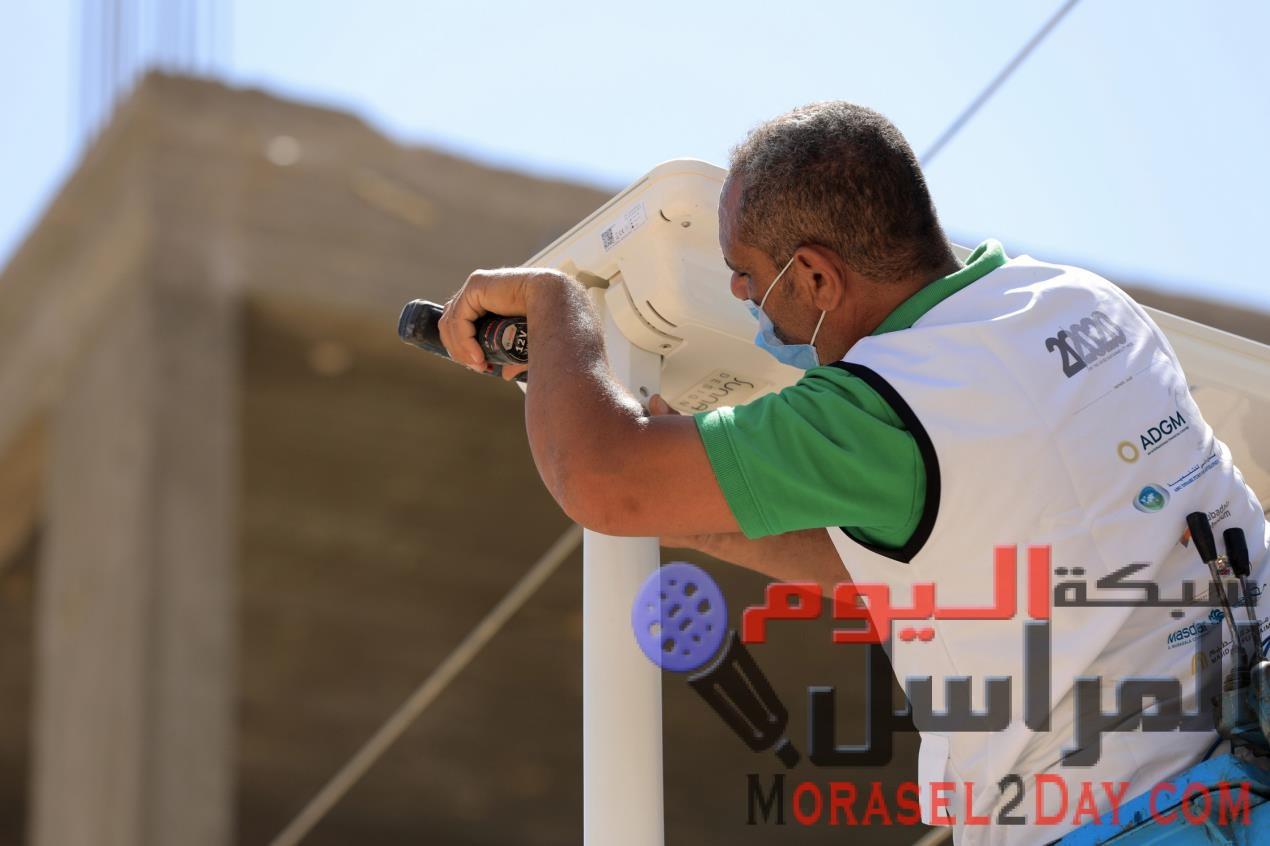 المبادرة الإماراتية 20 في 2020 توفر الإنارة المستدامة لقرية في مصر
