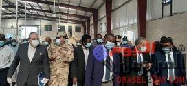 """وزير التموين ووزراء سودانيون يفتتحون """"مجمع وادي النيل"""" لتطوير صناعة الخبز"""