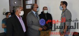 جامعة مدينة السادات تنظم قافلة طبية مجانية لقرية عدنان المدني
