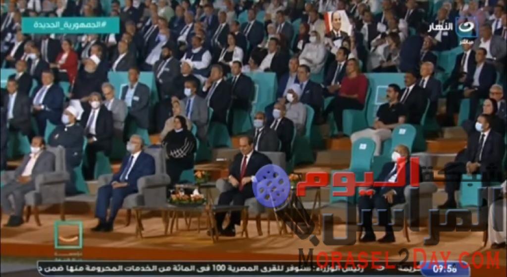 """شكري : كلمة السيسي خلال احتفالية """"حياة كريمة"""" ترسم مستقبلاً باهراً للمصريين"""