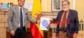 مدير معهد ثربانتس الاسباني يستقبل رئيس مهرجان شرم الشيخ الدولي للمسرح