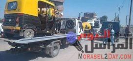 حملة مرورية مكبرة لإعادة الانضباط للشارع في دسوق